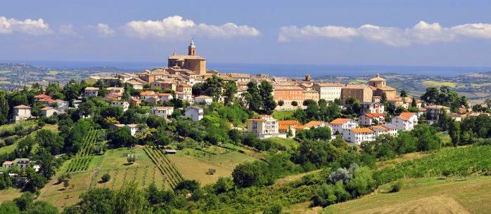 Montecarotto (An), veduta panoramica