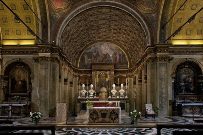 L'altare di S. Maria presso S. Satiro, a Milano.