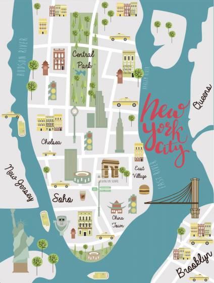 Cartina America New York.New York Il Mito Raccontato Dal Grande Cinema Usa 5 Di 5 Touring Club
