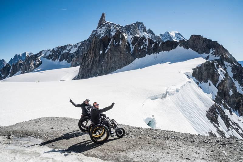 Montagna Accessibile Il Caso Di Courmayeur