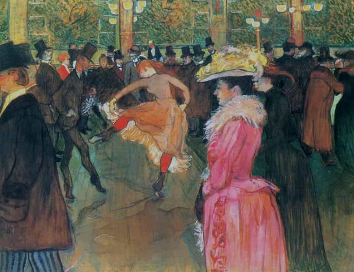 Henri de Toulouse-Lautrec, Al Mouline Rouge