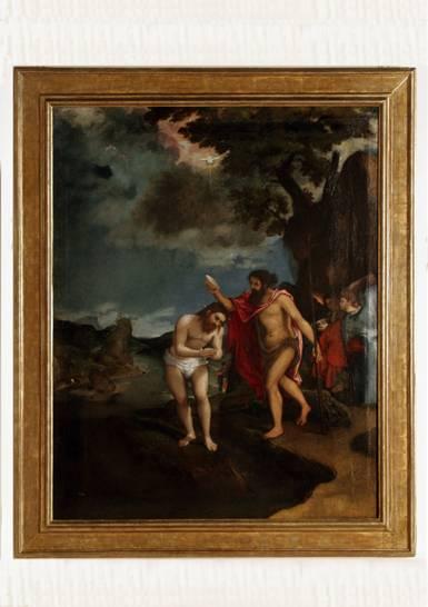 """Battesimo di Cristo di Lorenzo Lotto – Mostra di Loreto """"L'arte che salva"""""""