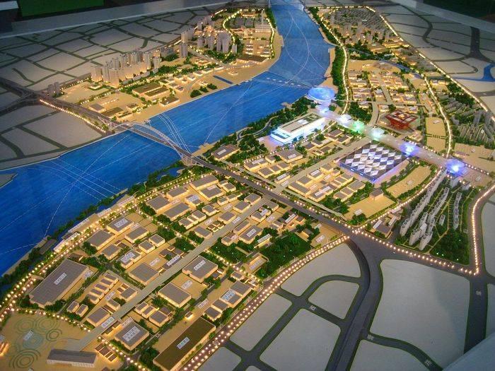Il masterplan dell'Expo Shanghai 2010.