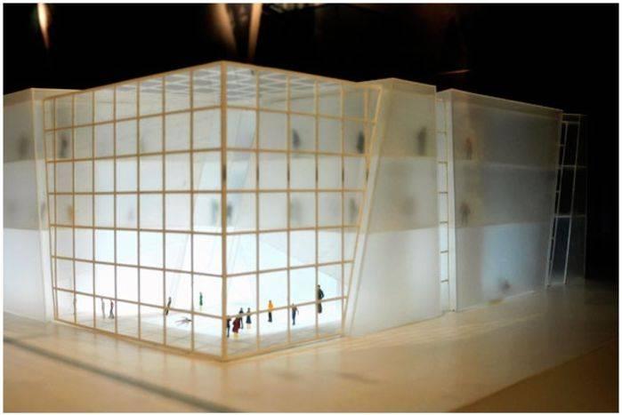 Rendering del Padiglione Italia all'Expo 2010.