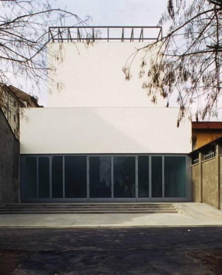 L'ingresso della galleria Lia Rumma