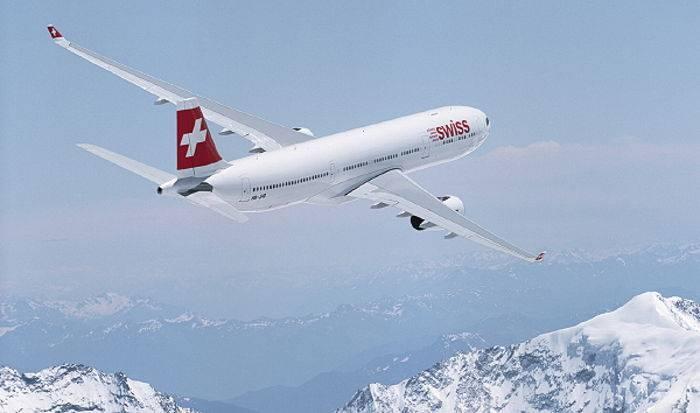 Il nuovo A330-300 di Swiss.