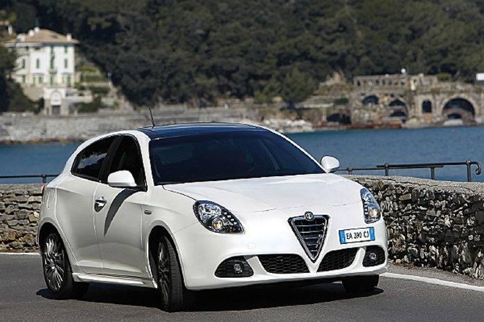 L'Alfa Romeo Giulietta 2010.
