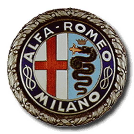 Il marchio Alfa Romeo postbellico.