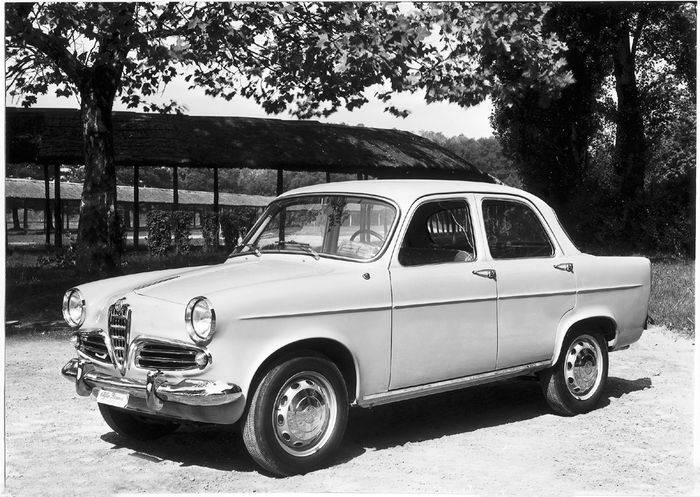Alfa Romeo Giulietta prima serie (1959).