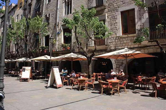 La ramblas di Girona