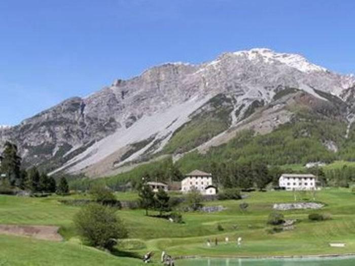 La conca di Bormio, in alta Valtellina