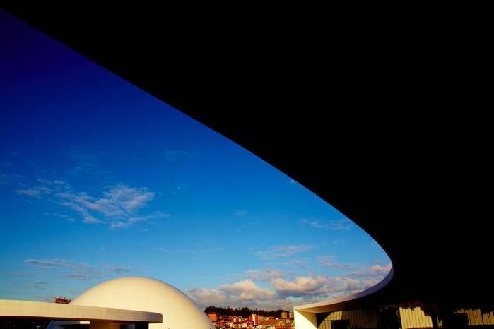 Il Centro culturale Niemeyer ad Avilés