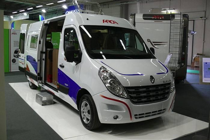 Arca Blue Van.