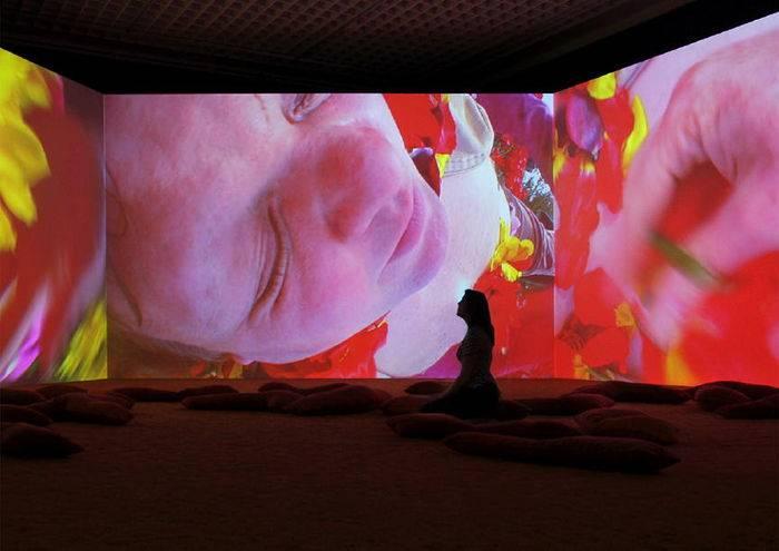 Pipilotti Rist: Lobe of the lung, 2009