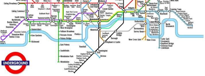 Londra, la metropolitana raccontata in 12 libri