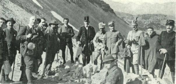 Una festa Touring tra i Monti Pallidi