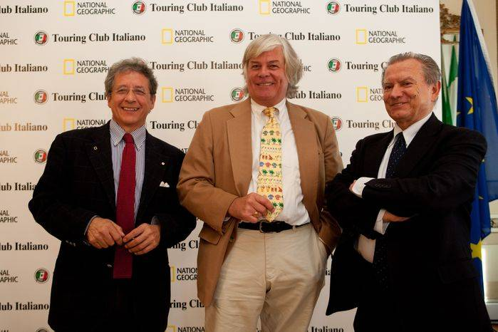 Silvestro Serra, Keith Bellows e Franco Iseppi