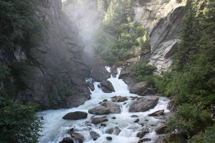 La prima cascata del Rutor a 20 minuti da La Thuile
