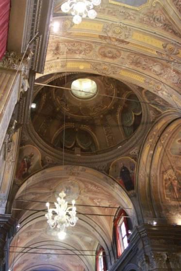 La Collegiata di Santa Maria Maggiore prima del terremoto.