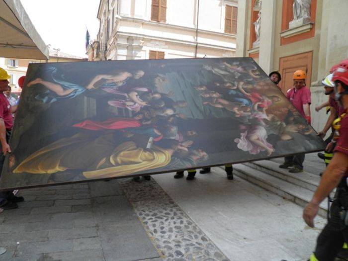 L'opera di Guido Reni messa in sicurezza