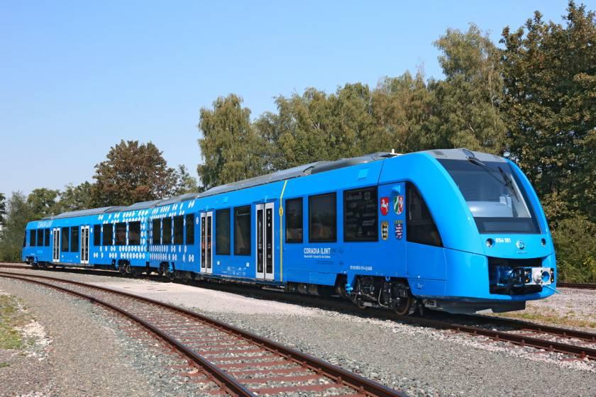 Il treno Alstom Coradia iLint alimentato a idrogeno.