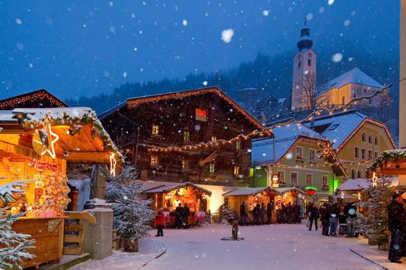 Mercatino Di Natale A Salisburgo Foto.Mercatini Di Natale I Piu Belli Di Salisburgo E Dintorni