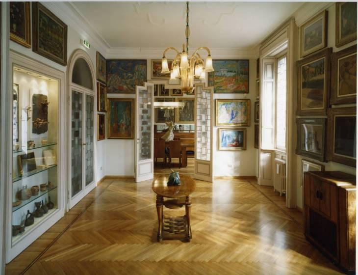 La sala dedicata a Morandi e De Pisis