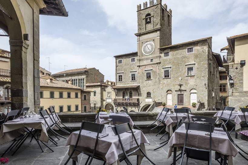 Il municipio di Cortona