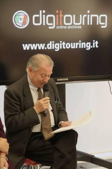 La presentazione di Digitouring alla Triennale di Milano: il presidente Tci Franco Iseppi