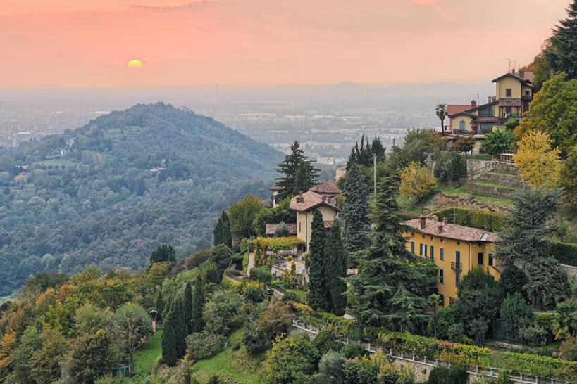 Vista da Bergamo