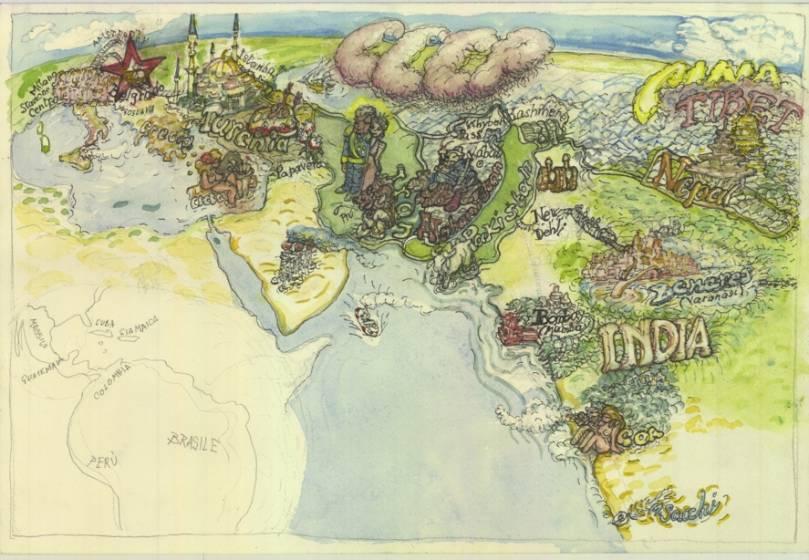 Cartina Mondo Touring.Compagni Di Viaggio Rotta Verso L Eden 2 Di 4 Touring Club
