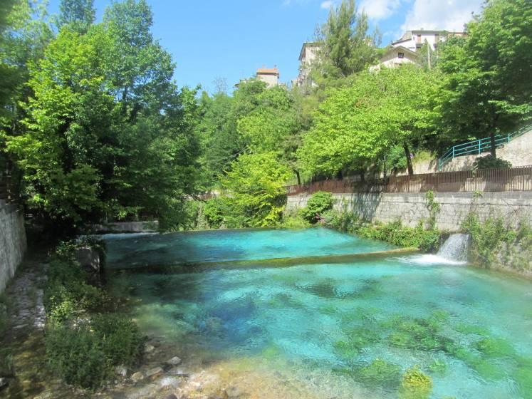 Fara San Martino - Sorgenti fiume Verde - Archivio Touring Club