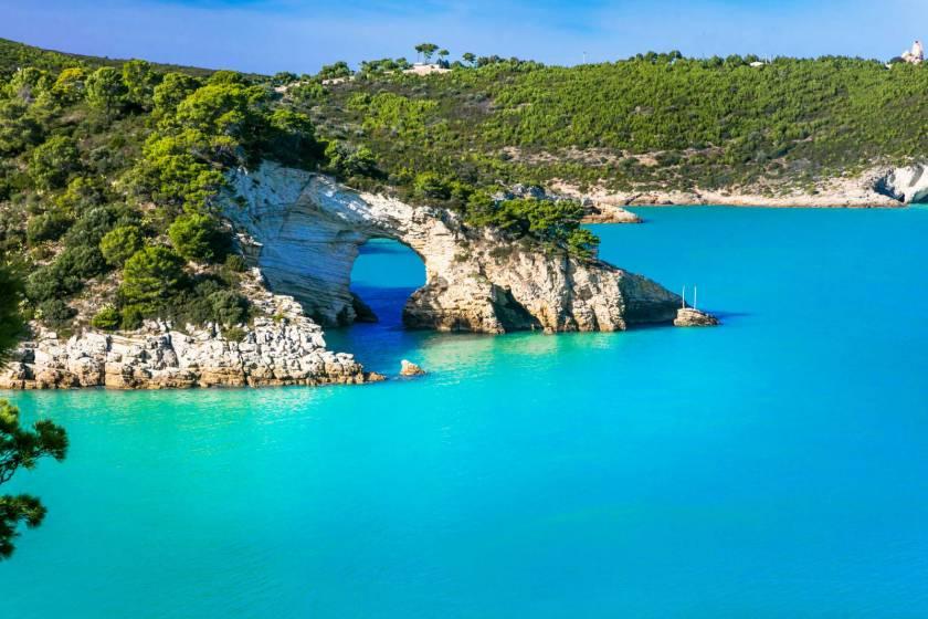 Cartina Puglia Zona Gargano.In Camper Nel Gargano Le Spiagge Piu Belle E La Foresta Umbra