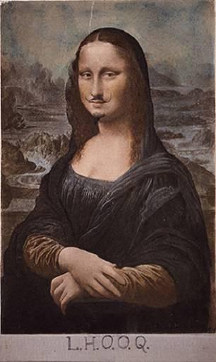 Duchamp, L.H.O.O.Q.