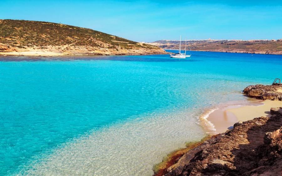Cartina Isola Di Malta.Le Spiagge Piu Belle Di Malta E Gozo