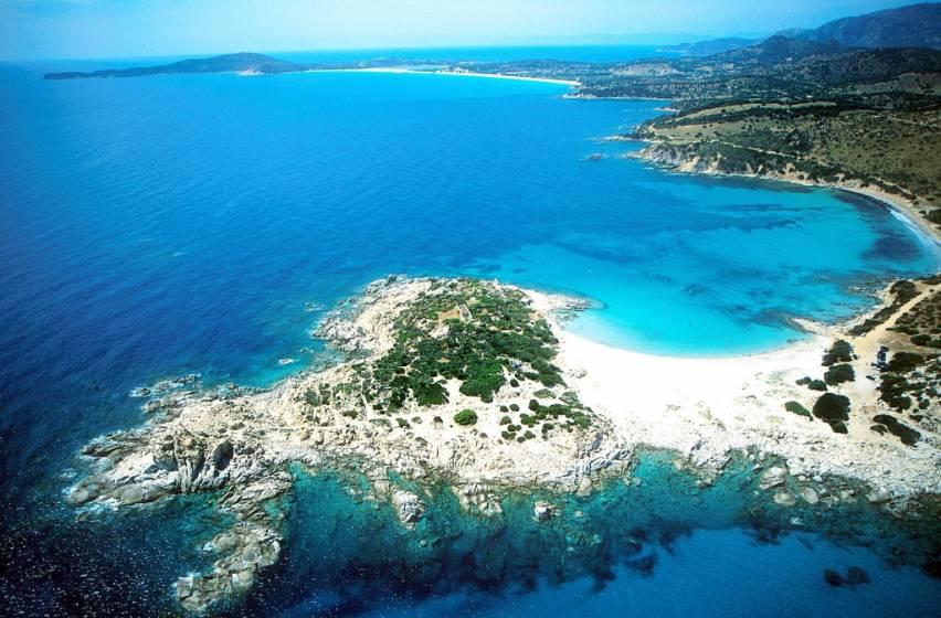 Spiagge Sardegna Cartina.Spiagge Della Sardegna Del Sud Quali Sono Le Piu Belle
