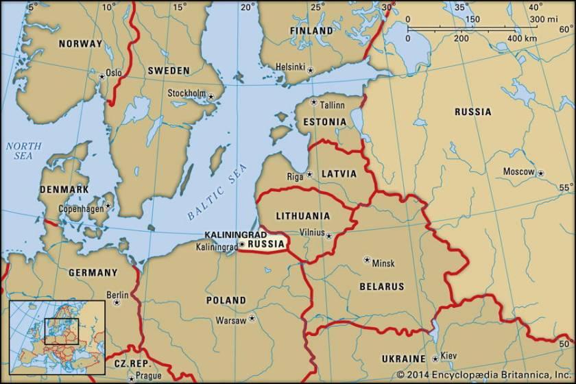 Russia Oggi Cartina.Kaliningrad Mappa Di Una Citta Bifronte 3 Di 4 Touring Club
