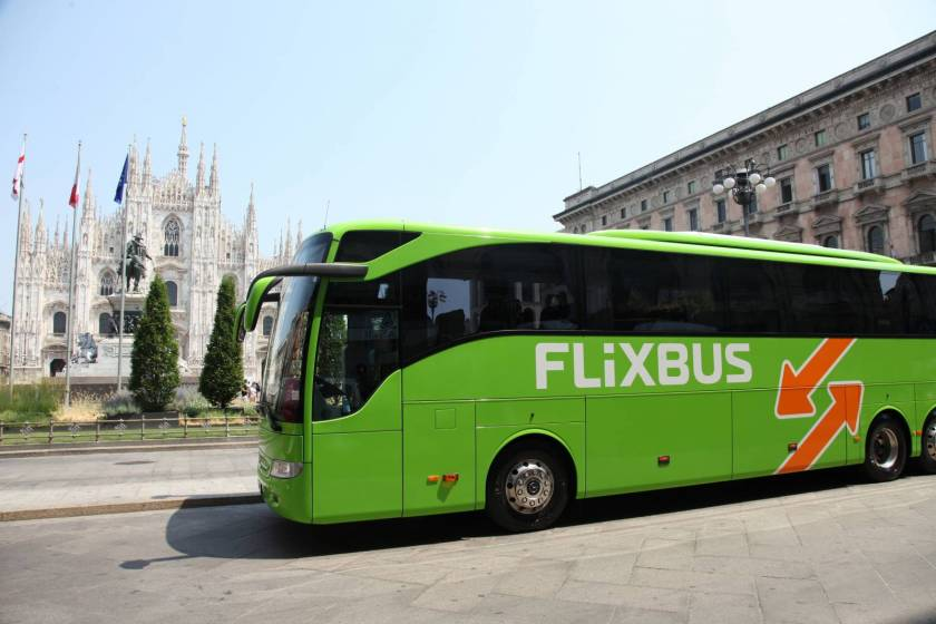 FlixBus: nuove linee di autobus green
