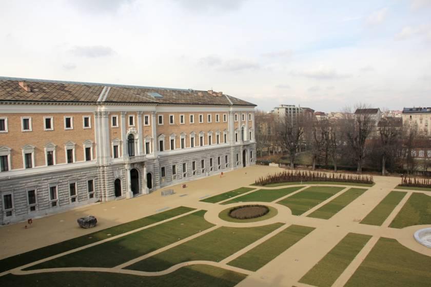 Torino i volontari tci aprono i giardini reali