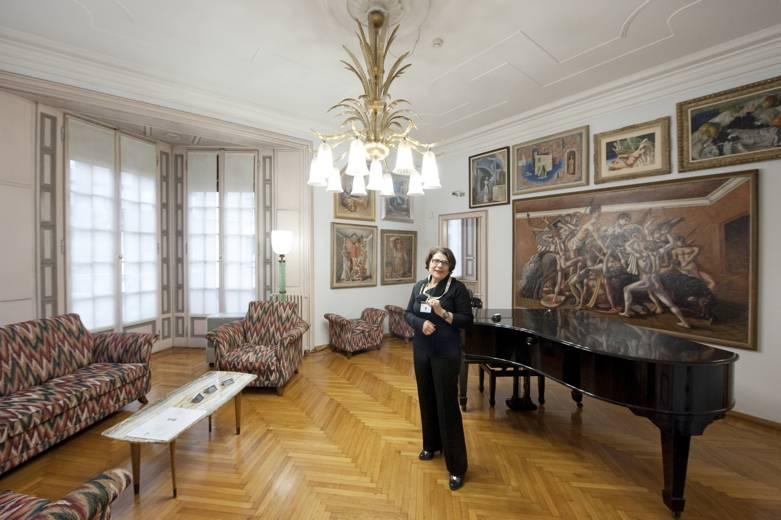 Casa Museo Boschi Di Stefano.A Milano Mecenati Cercansi Per Casa Museo Boschi Di Stefano 4 Di 4