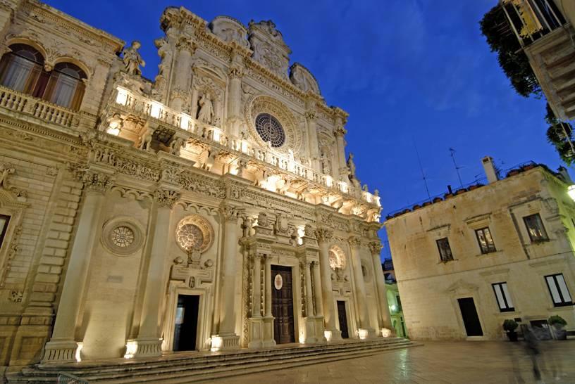 Lecce - Santa Croce (ph. Vittorio Giannella)
