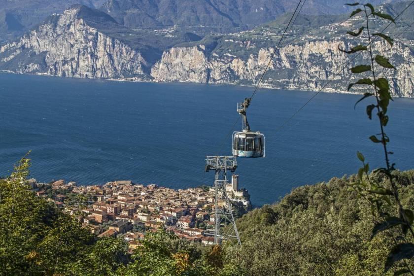 Le dieci funivie pi belle d europa 6 malcesine monte for Cabine del lago hyatt