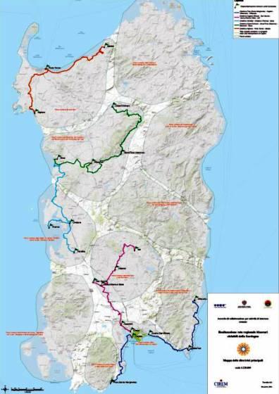 Cartina Sardegna 2017.Viaggiare In Sardegna In Bicicletta Tutte Le Novita 3 Di 6 Touring Club