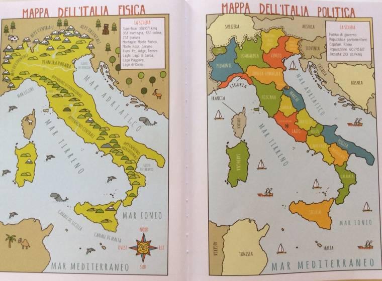 Mappa Dellitalia Per Bambini.La Geografia Spiegata Ai Bambini Ne Parliamo Al Punto Touring Di