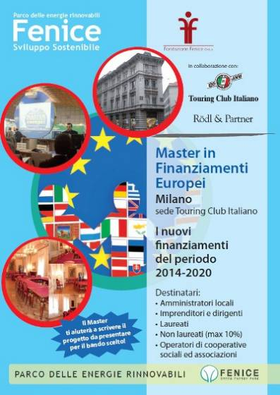 Master sui Finanziamenti Europei