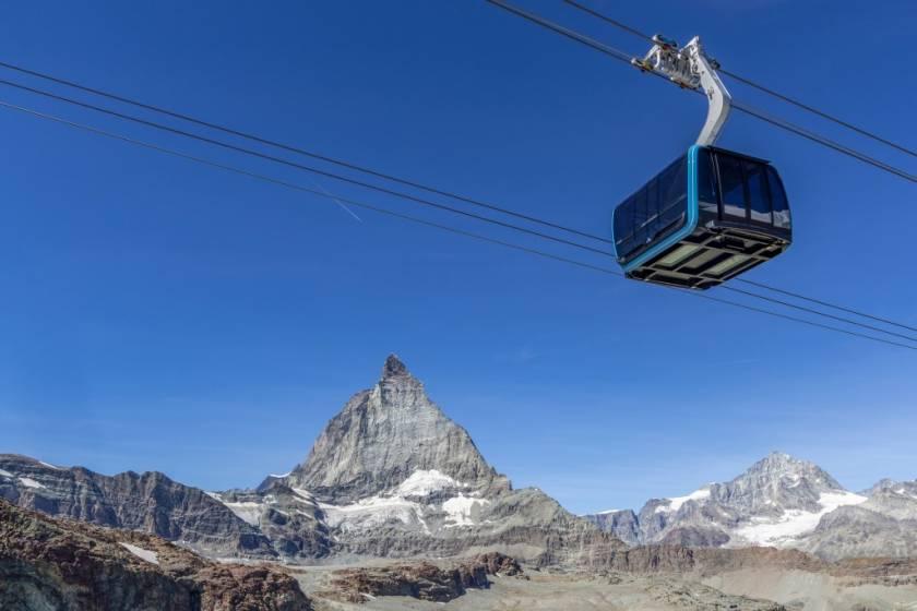 A Zermatt In Svizzera Una Nuova Funivia Arriva A 3821