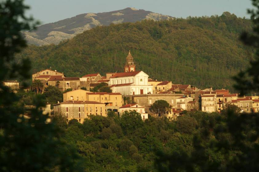 Morigerati, veduta panoramica - foto di E. Signorelli
