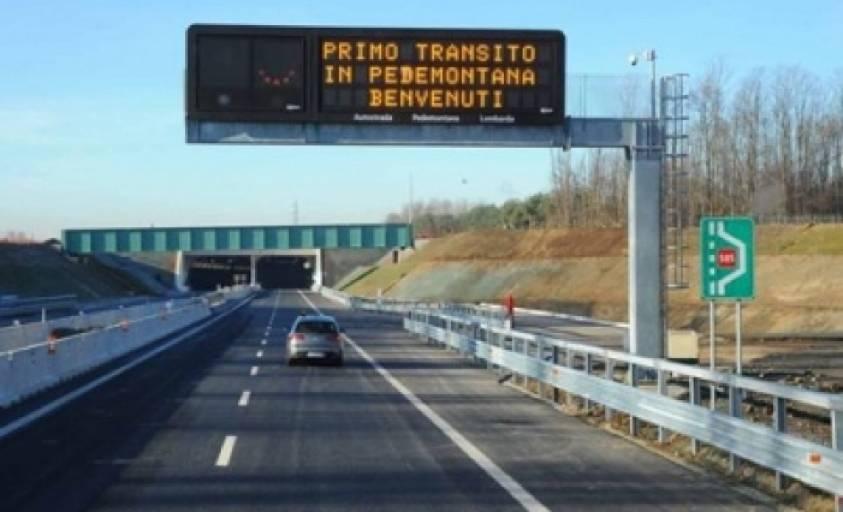 L'autostrada Pedemontana.