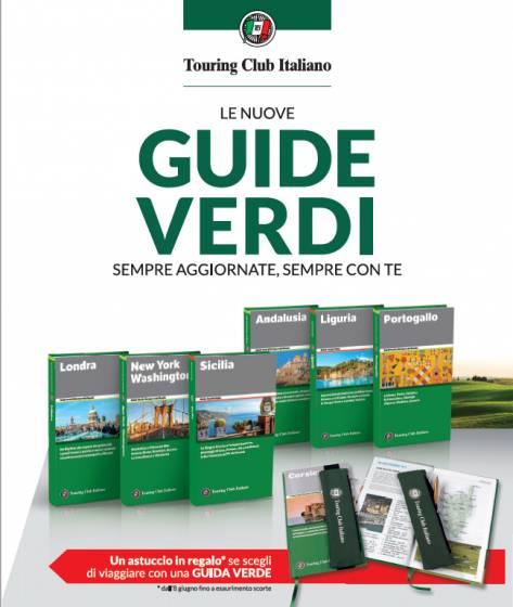 Con il sole 24 ore in edicola le guide verdi del touring club.