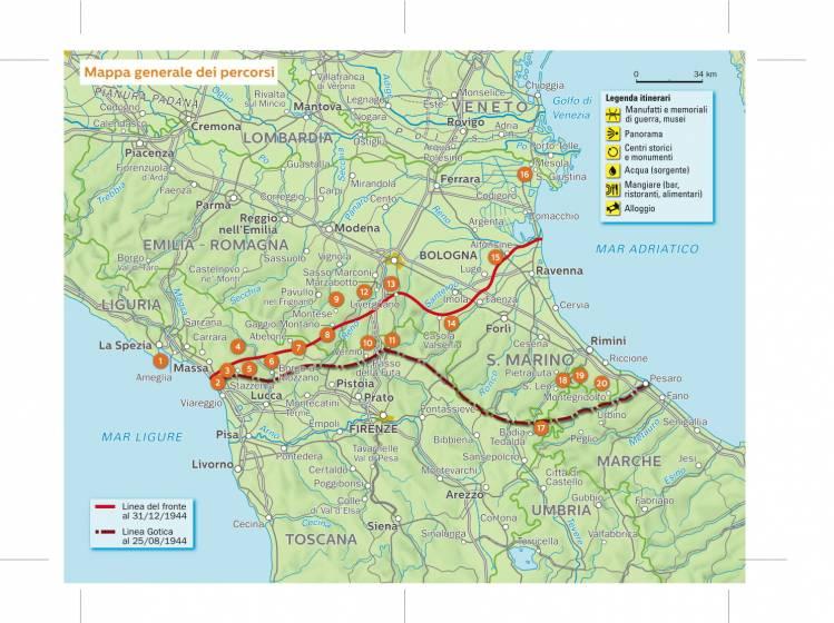 Costa Tirrenica Toscana Cartina.A Piedi Sulla Linea Gotica L Anello Di Sant Anna Di Stazzema In Toscana